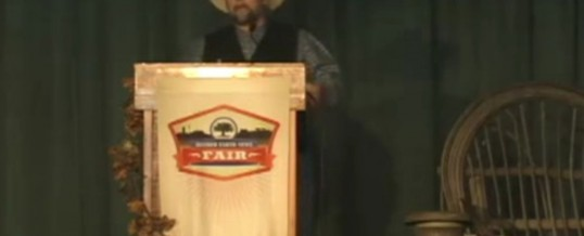 Gary Paul Nabhan at the 2010 – Mother Earth News Fair