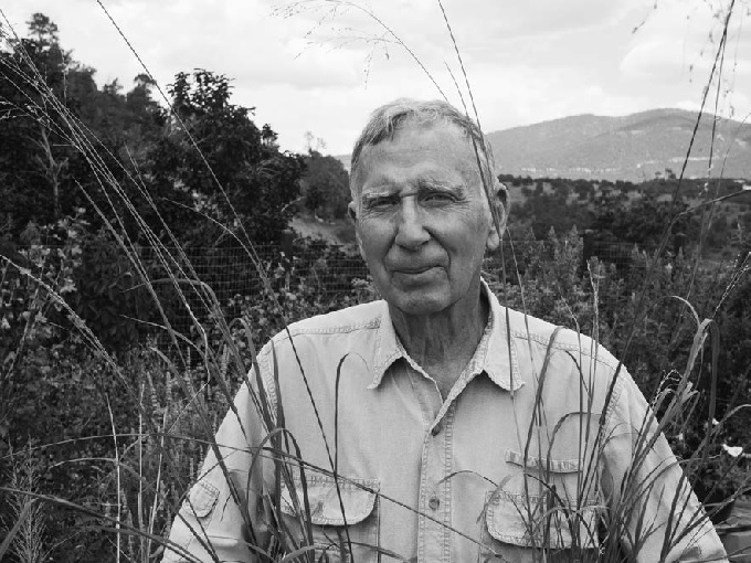 "Early in his career Richard Felger began arguing that we design farms to mimic desert ecosystems. He has finally seen several of the native plants he championed make their way to market. Photo by Bill Steen, who with his wife, Athena, directs the Arizona-based Canelo Project, ""connecting people, culture, and nature."" They have written books about building with straw bales and natural materials."