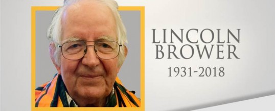 Remembering Lincoln Brower: A field scientist who went through as many metamorphic life stages as monarch butterflies do
