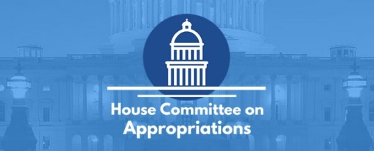 Order of Ecumenical Franciscans for the House Committee on Appropriations and its Subcommittee on Homeland Security